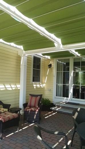 Retractable Patio Awnings Sunshades Canopies Roman