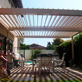 The Louvered-Roof Awnings