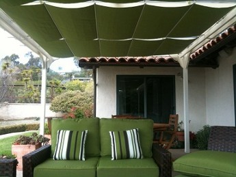 Green Canopy and Furniture