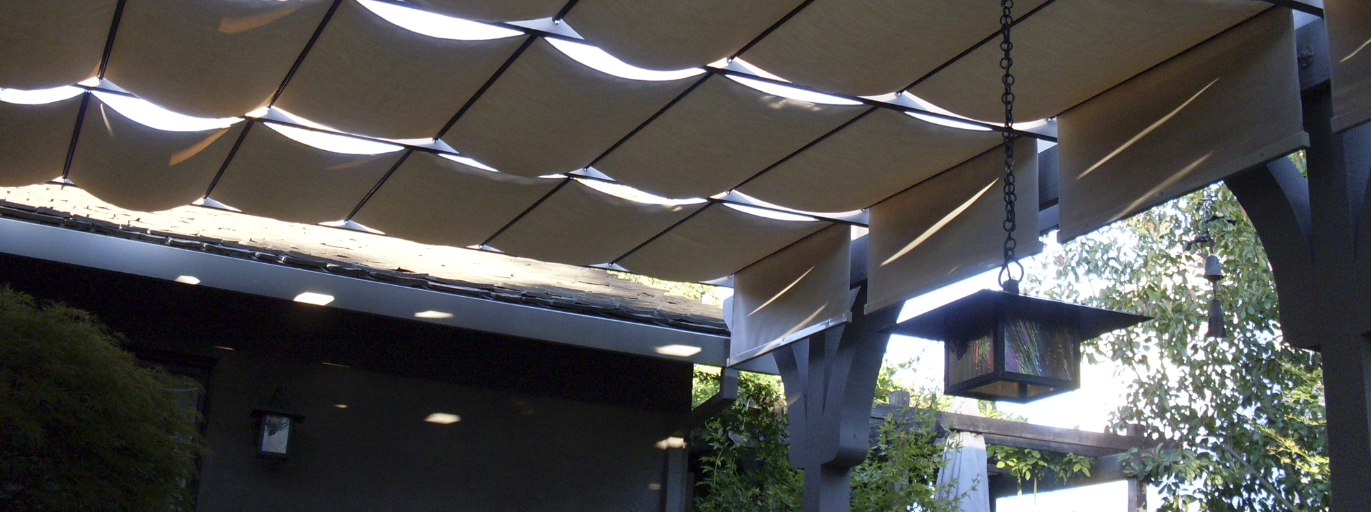 Good Retractable Patio Awnings, Sunshades, Canopies, Roman Shades, Slide Wire,