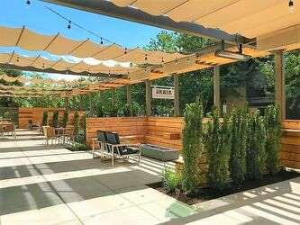 Pergola Shade Systems for Restaurant