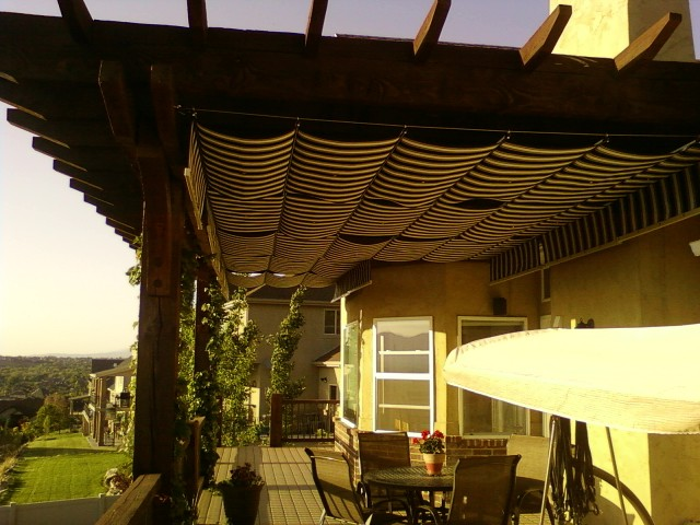 & Retractable Deck and Patio Awnings Sunshades Canopies