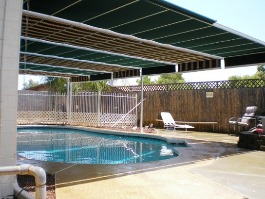 Retractable Deck And Patio Awnings Sunshades Canopies